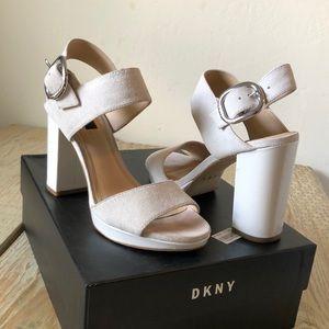 DKNY Bell Sling high heel, plateau